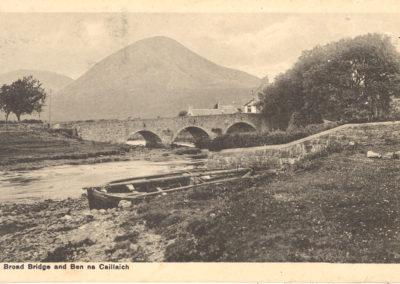 Broad Bridge and Ben na Caillaich