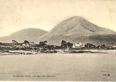 Broadford Hotel and Ben na Caillich
