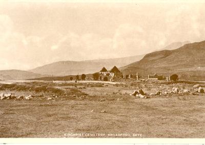 Kirchrist Cemetery, Broadford, Skye