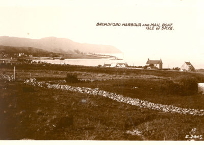Broadford Harbour and Mail Boat, Isle of Skye