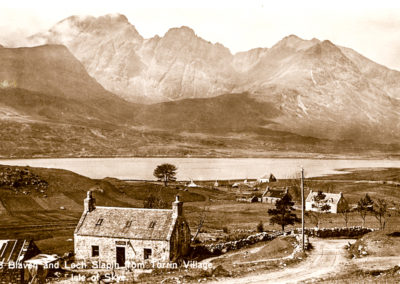 Blaven and Loch Slapin from Torrin Village