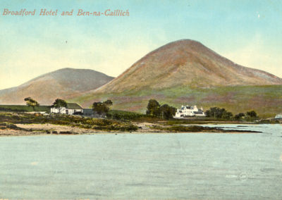 Broadford Hotel and Beinn na Caillich