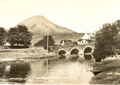 Broadford Bridge and Beinn na Caillch, Skye
