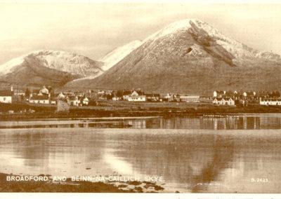 Broadford and Beinn na Caillch, Skye