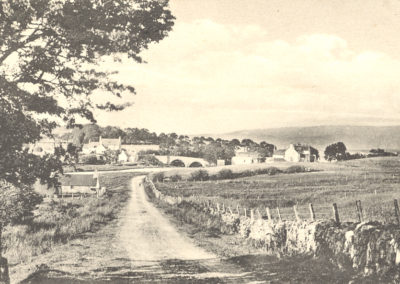 Broadford from the west