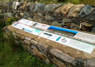 Heritage Trail - Ashaig display