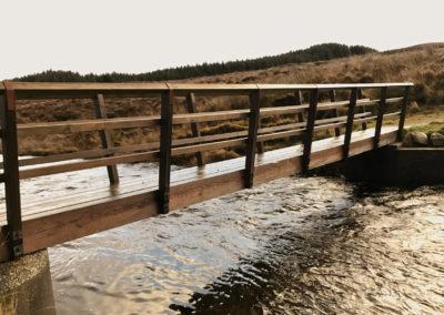Old Corry Bridge Restored