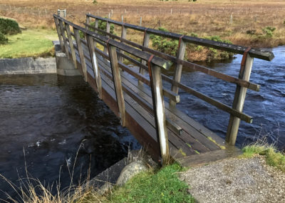 Old Corry Bridge Restored