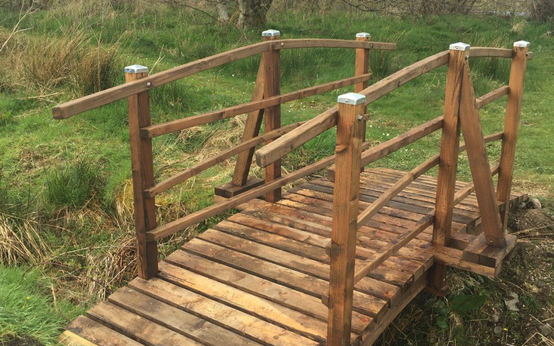 New Bridge for the Arboretum