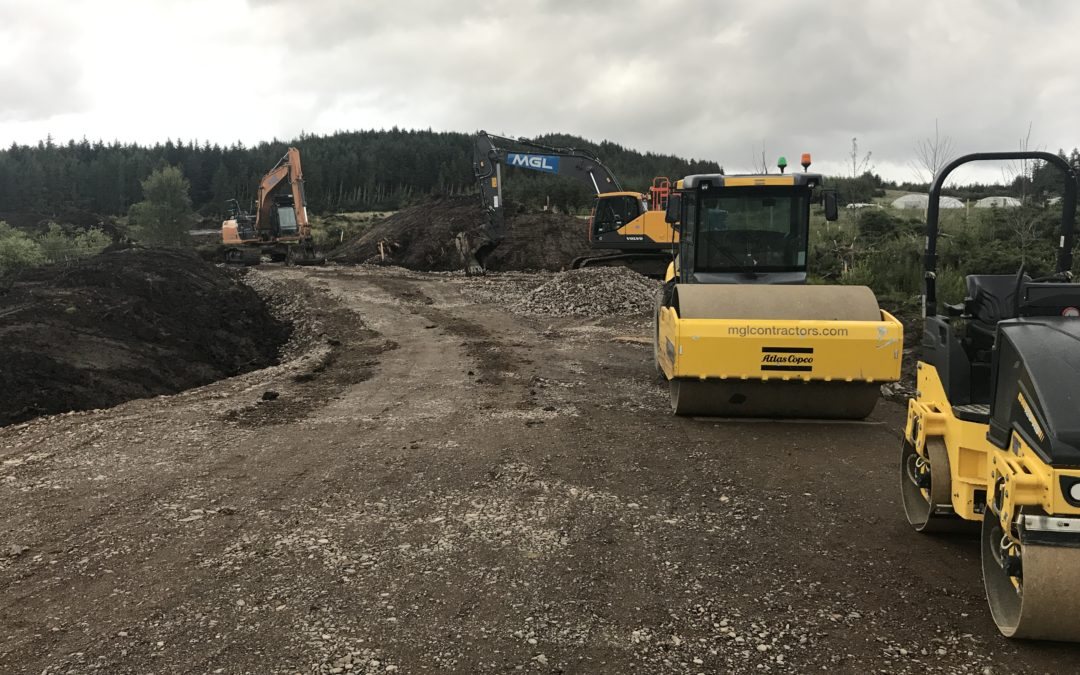 Groundworks underway for new Broadford and Strath Campsite!
