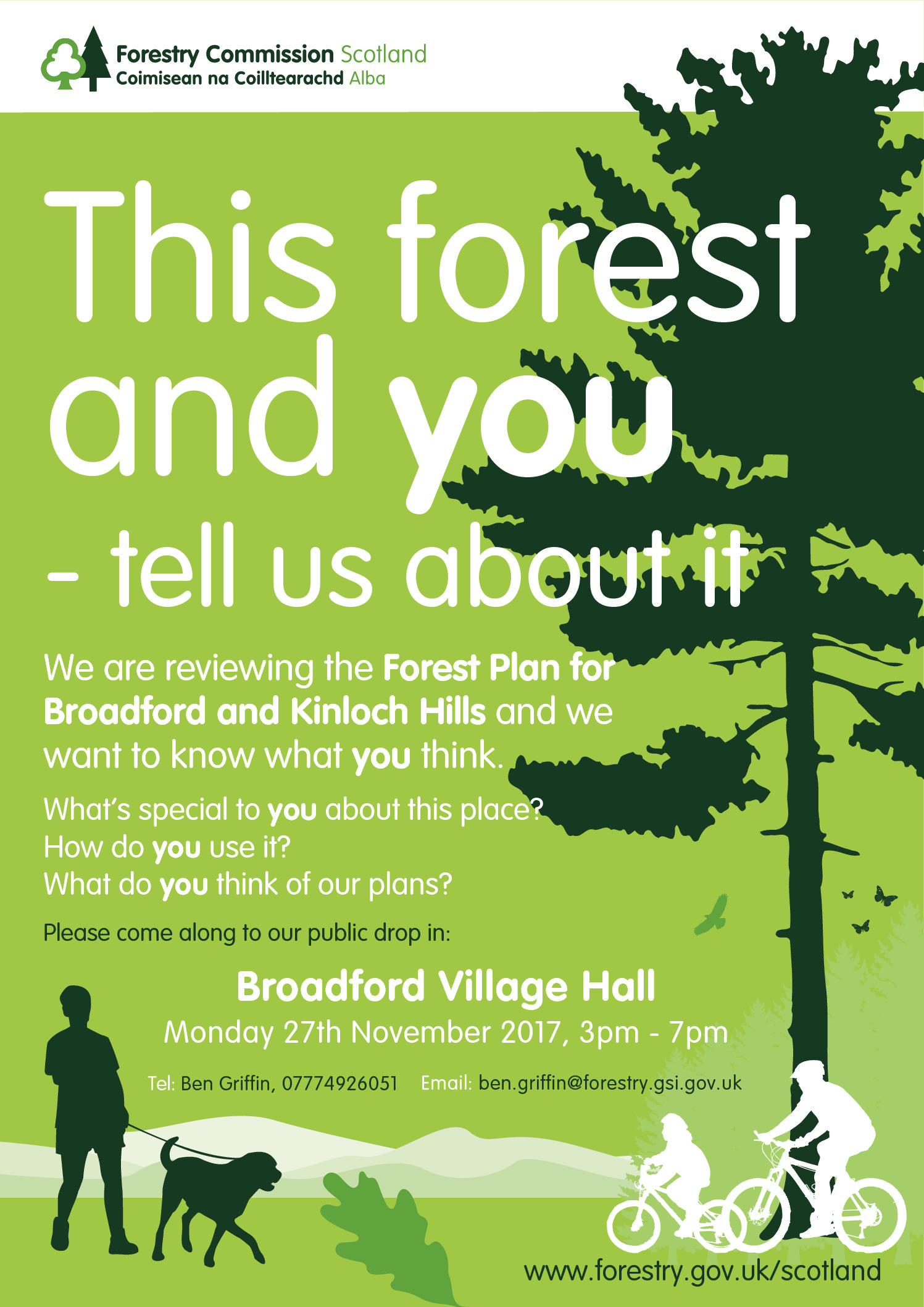Review of Forest Plan for Broadford and Kinloch Hills