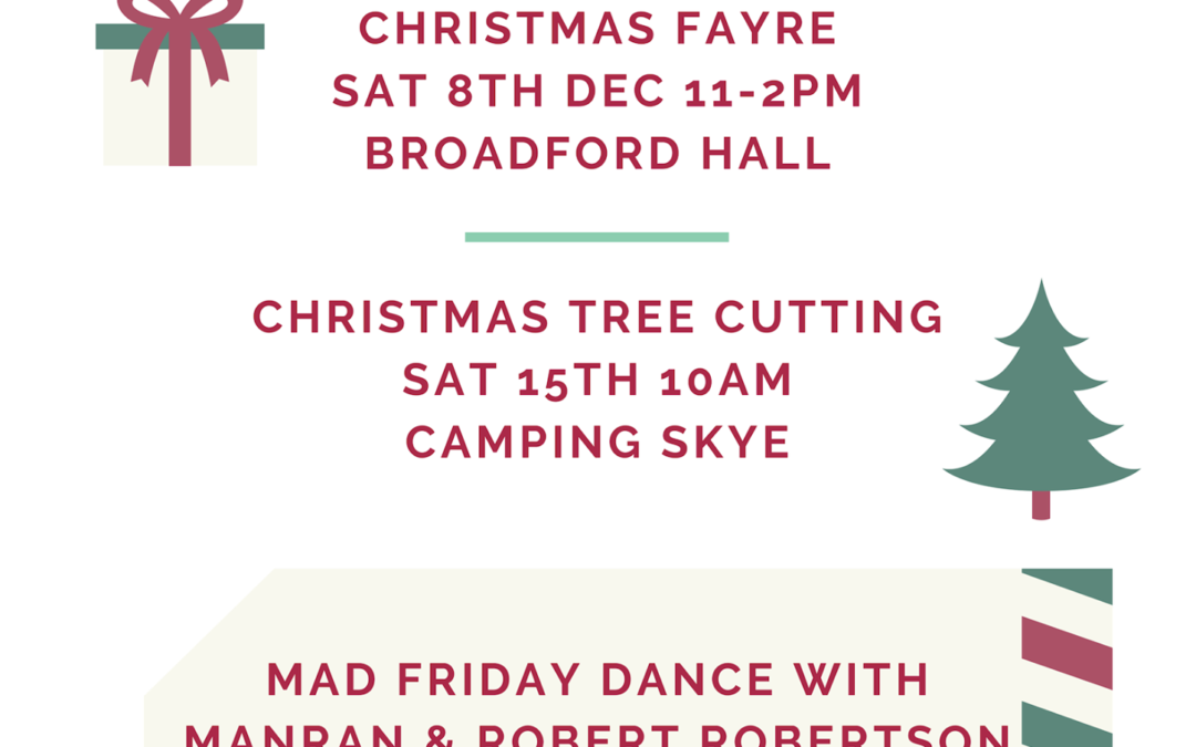Broadford and Strath Community Company Christmas Events